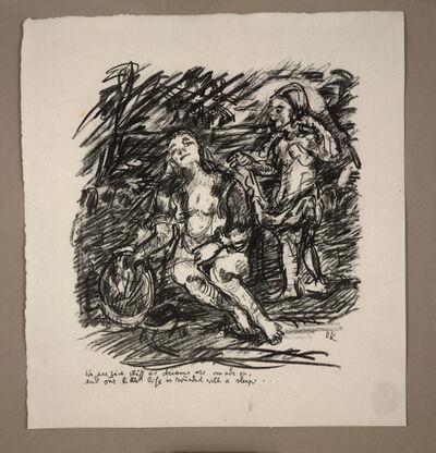 Oskar Kokoschka, 'The Dream, plate 20 from Visions of Shakespeare (Shakespeare Visionen)', 1918