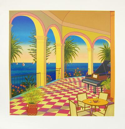 Fanch Ledan, 'Piano Balcony', 1988