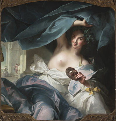 Jean-Marc Nattier, 'Thalia, Muse of Comedy', 1739