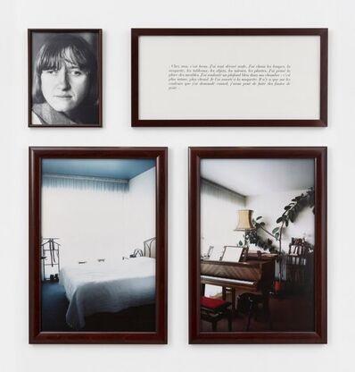Sophie Calle, 'Chez moi, c'est beau', 1986