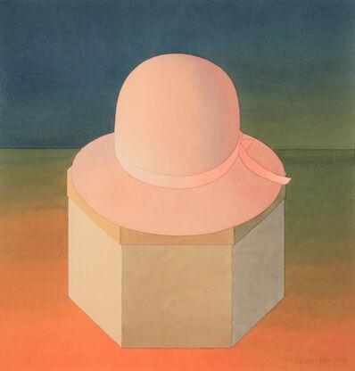 Mark Adams, 'Pink Felt Hat', 1988