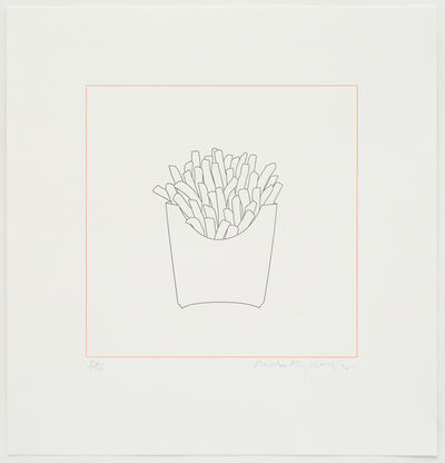 Michael Craig-Martin, 'Chips', 2015