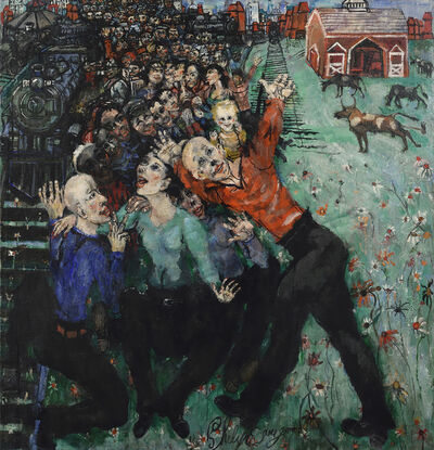 Philip Evergood, 'Workers Victory', 1948