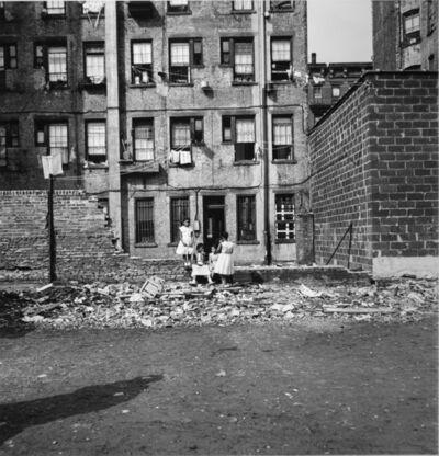 Arthur King, 'Vacant Lot, Girls', 1958