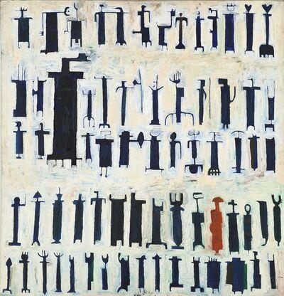 Parviz Tanavoli, 'Last Poet of Iran', 1964