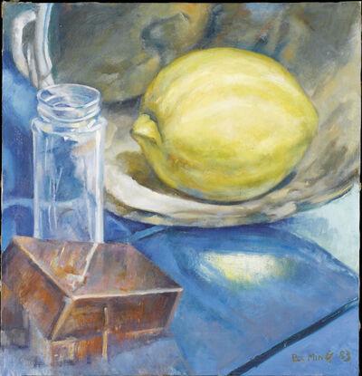 Yan Pei-Ming, 'Nature Morte au Citron', 1983