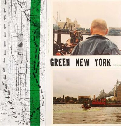 Nicolás García Uriburu, 'Green New York', 1970