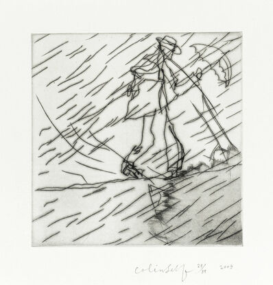Colin Self, 'Man in a Rainstorm No2', 2008