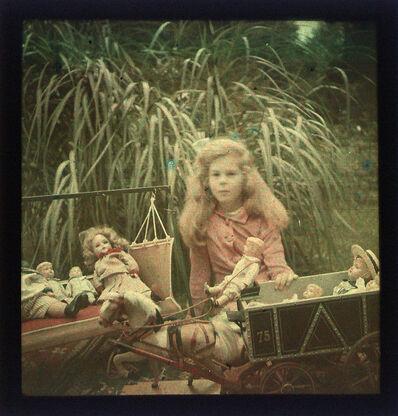 Alfred Stieglitz, 'Study Of Georgia Engelhard, IV with Dolls', 1910, 15/1910, 15