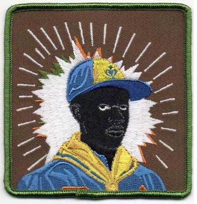 Kerry James Marshall, 'Scout Series embroidered patch: Cub Scout', 2017
