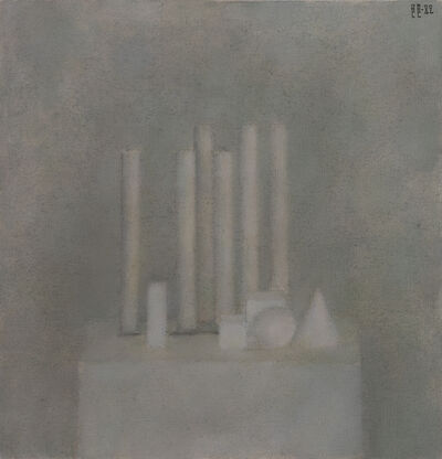 Vladimir Weisberg, 'Six columns and other shapes', 1982