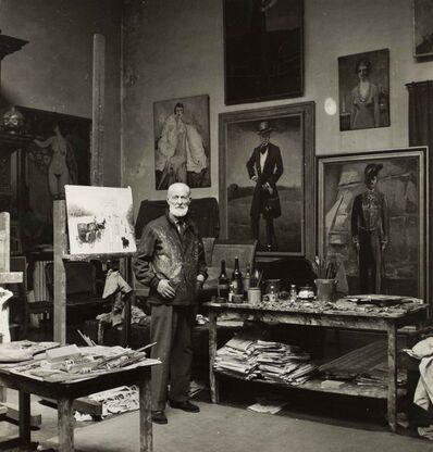 Willy Maywald, 'Van Dongen dans son atelier', ca. 1949