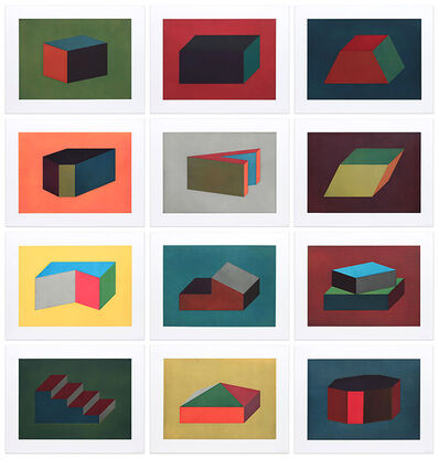 Sol LeWitt, 'Forms Derived From a Cubic Rectangle', 1990