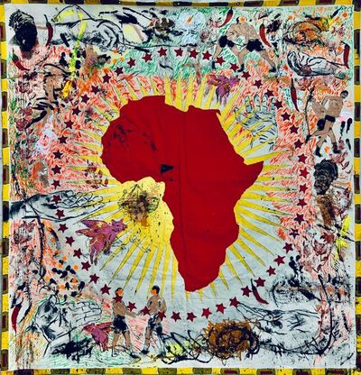 René Tavares, 'Fantastic African Union. Series: Thinking about Africa's future', 2020