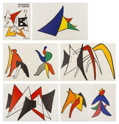 Alexander Calder, 'Derrière le Miroir No. 141', 1963