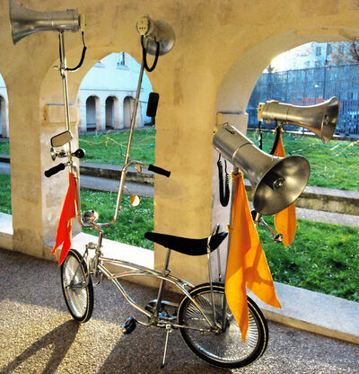 Marinella Senatore, 'Protest Bike', 2016