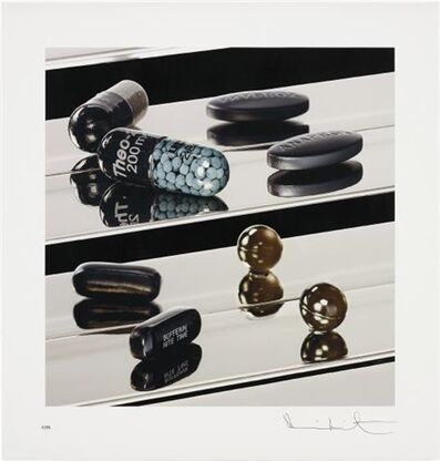 Damien Hirst, 'Black Heaven (Nite Time)', 2012