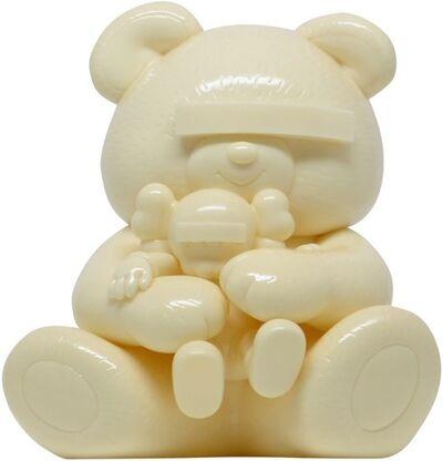 KAWS, 'KAWS X JUN TAKAHASHI UNDERCOVER BEAR WHITE', 2009
