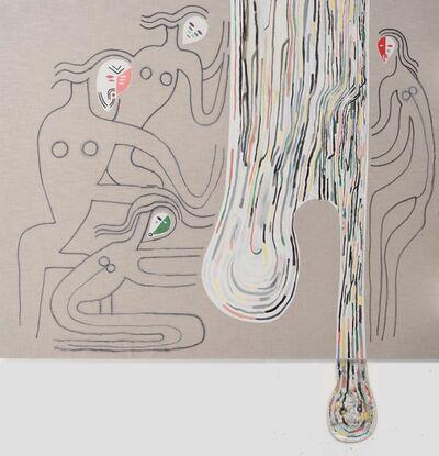 Juan Tessi, 'Four figures and a pair of sagging balls', 2019