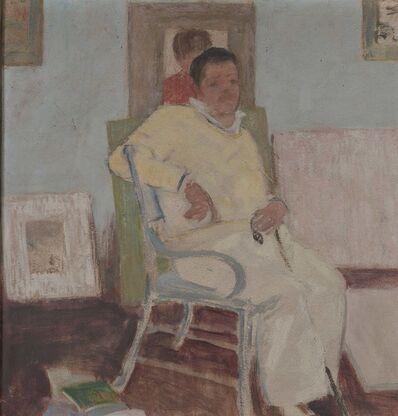 Milton Avery, 'Seated Male Figure', circa 1922
