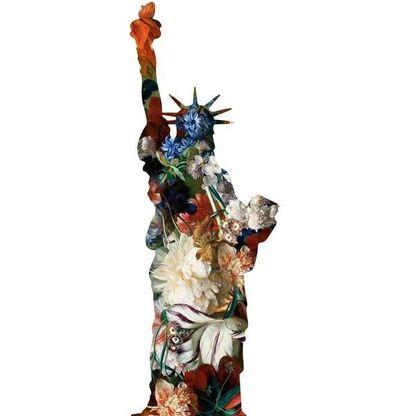 Agent X, 'La statue de la Liberte(White)', 2018