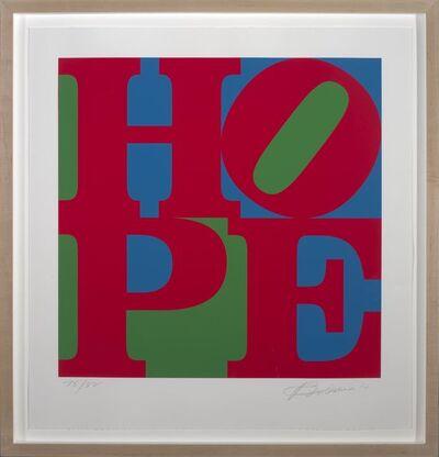 Robert Indiana, 'Classic HOPE', 2010