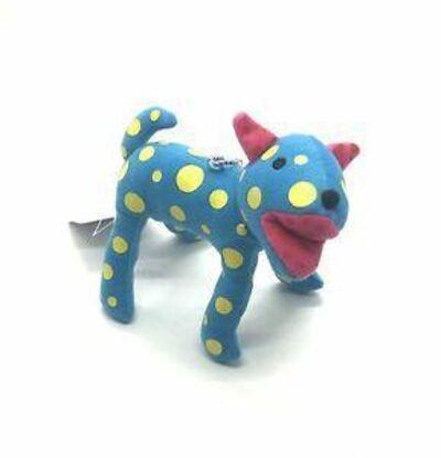 Yayoi Kusama, 'Dog Plush Doll Stuffed Keychain (Blue with Yellow Dots)', 2010-2019