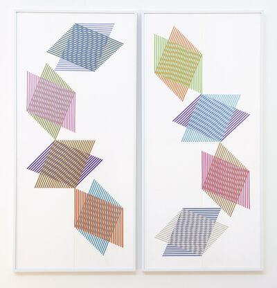 Blinn Jacobs, 'Ellipsis Diptych ', 2014-2018