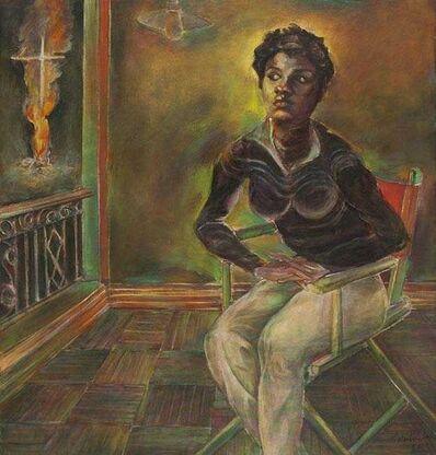 Paritosh Sen, 'Untitled (Isabelle in Black Dress)', 1982