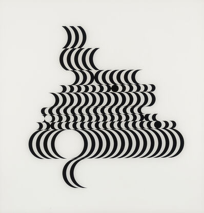 Bridget Riley, 'Untitled [Fragment 2]', 1965