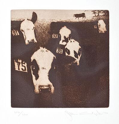 Jamie Wyeth, 'Cows', 1980