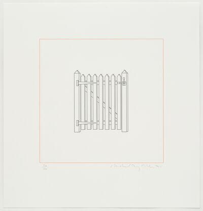 Michael Craig-Martin, 'Gate', 2015