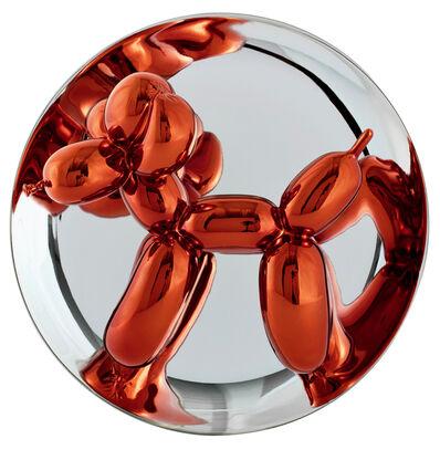 Jeff Koons, 'Balloon dog, Orange'