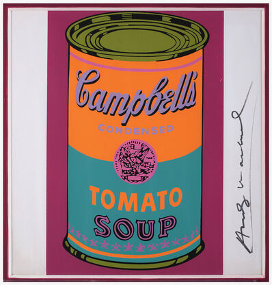 Andy Warhol, 'Campbell's Soup Can - Tomato', 1968