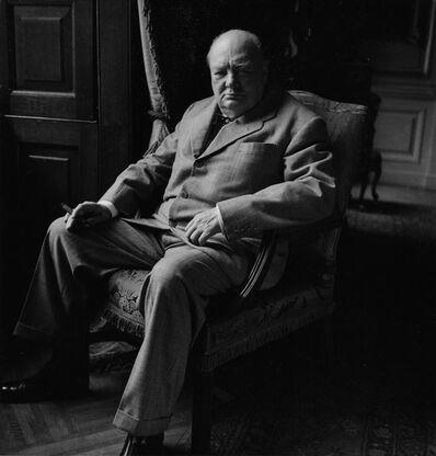Toni Frissell, 'Winston Churchill', ca. 1945