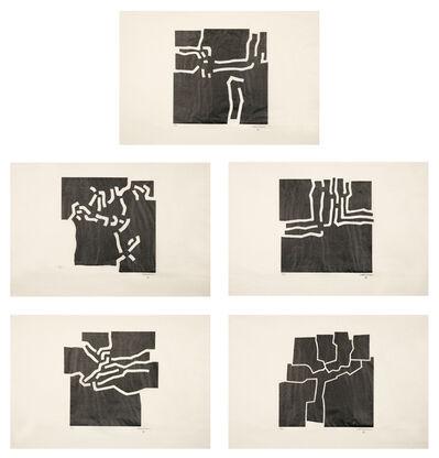 Eduardo Chillida, 'Beltza', 1969