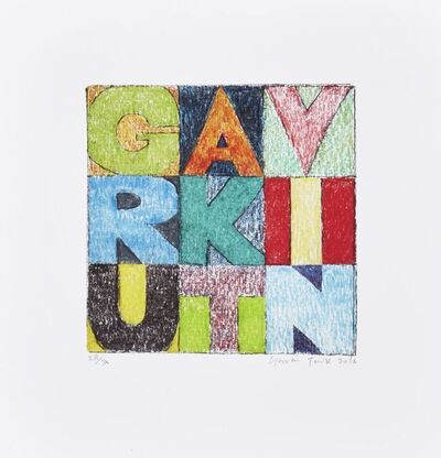 Gavin Turk, 'RKI', 2016