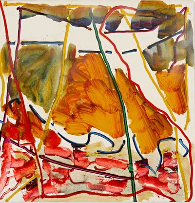 Raymond Parker, 'Untitled (Abstract Expressionist painting)', 1978