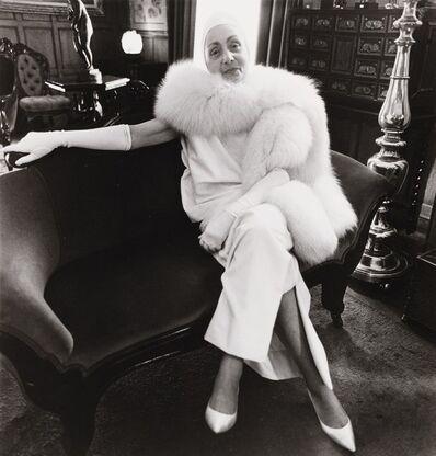 Diane Arbus, 'Madame Alix Grès, Harper's Bazaar, N.Y.C.', 1964