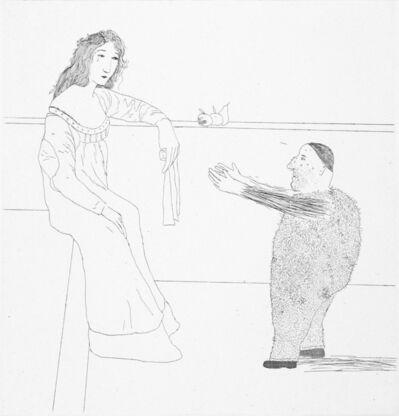 David Hockney, 'Pleading for the Child', 1969