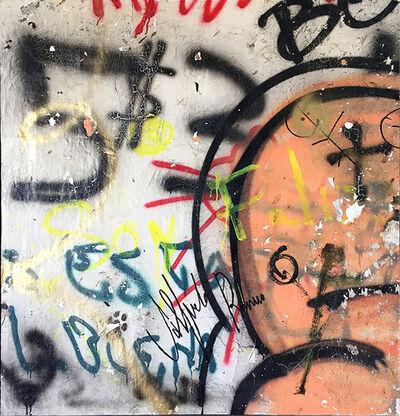 Alfredo Romero, 'Graffiti soy feliz', 2019