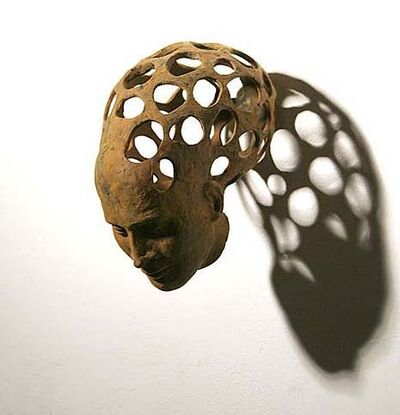 Petra Morenzi, 'Head with holes', 2008