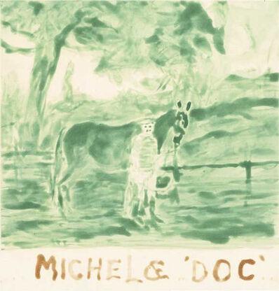 William T. Wiley, 'Michel & Doc Go Green', 2006