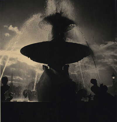 Albert Monier, 'Fountain in Place de Concorde, Paris', 1950s/1950s