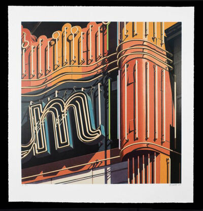 Robert Cottingham, 'M, from American Signs Portfolio', 2009