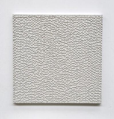Reiner Seliger, 'Kreideschichtung weiß', 21st century