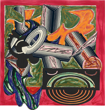 Frank Stella, 'Then Came a Dog and Bit the Cat, from Illustrations After El Lissitzsky's Had Gadya', 1984