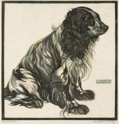 Norbertine Bresslern-Roth, 'Spaniel II', 1923