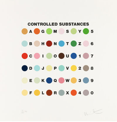 Damien Hirst, 'Controlled Substances Key Spot', 2011