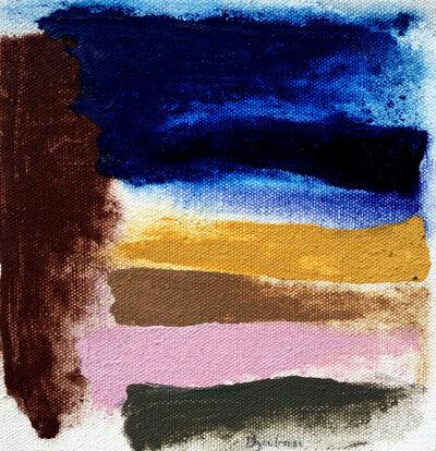 Friedel Dzubas, 'Blulac', 1975